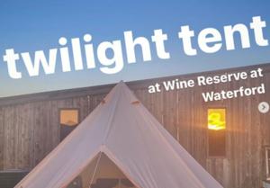 Twilight Tent - Saturday, Oct. 9, 2021
